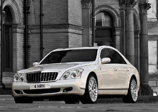 Project Kahn Maybach 57 Wedding Commemorative