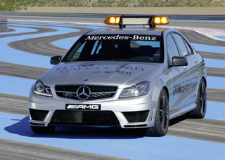 Mercedes-Benz C63 AMG Safety Car