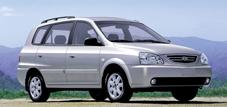 Kia Carens (с 2002 по 2006 годы)