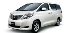 Toyota Alphard II (с 2005 по 2008 годы)