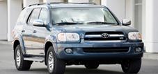 Toyota Sequoia I (с 2001 по 2007 годы)